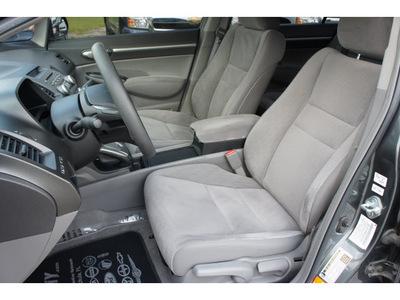 honda civic 2009 gray sedan ex gasoline 4 cylinders front wheel drive automatic 33870