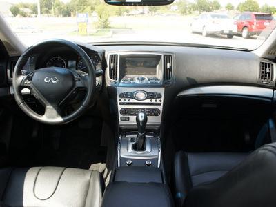 infiniti g37 sedan 2010 gray sedan gasoline 6 cylinders rear wheel drive automatic 76205