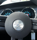 ford mustang 2010 dk  blue coupe v6 gasoline 6 cylinders rear wheel drive automatic 33021