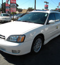 subaru legacy 2000 white wagon gt gasoline 4 cylinders all whee drive automatic 92882