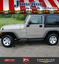 jeep wrangler 2006 beige suv x gasoline 6 cylinders 4 wheel drive 6 speed manual 44024