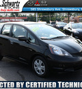 honda fit 2009 black hatchback gasoline 4 cylinders front wheel drive automatic 07702