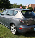 mazda mazda3 2008 gray hatchback s touring gasoline 4 cylinders front wheel drive automatic 07702