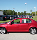 chevrolet cobalt 2010 red sedan lt xfe gasoline 4 cylinders front wheel drive 5 speed manual 33870