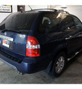 acura mdx 2003 dk  blue suv touring w res w navi gasoline 6 cylinders sohc all whee drive automatic 07044
