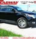 ford edge 2008 black suv awd sel gasoline 6 cylinders all whee drive automatic with overdrive 45840