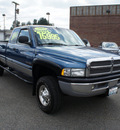dodge ram pickup 2500 2002 blue slt 4x4 diesel 6 cylinders 4 wheel drive automatic with overdrive 98371