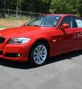 bmw 3 series 2011 red sedan 328i gasoline 6 cylinders rear wheel drive automatic 27616