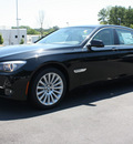 bmw 7 series 2012 black sedan 750li gasoline 8 cylinders rear wheel drive shiftable automatic 27616