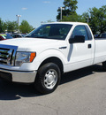 ford f 150 2010 white xl gasoline 8 cylinders 2 wheel drive 4 speed automatic 46168