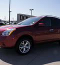 nissan rogue 2010 red suv sl gasoline 4 cylinders front wheel drive automatic with overdrive 76018