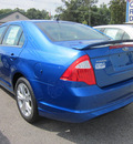 ford fusion 2012 blue sedan se gasoline 4 cylinders front wheel drive automatic 62863