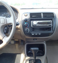 honda civic 1999 green sedan lx gasoline 4 cylinders front wheel drive automatic 28557
