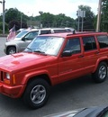 jeep cherokee 1998 red suv classic 4x4 gasoline 6 cylinders 4 wheel drive automatic 07054