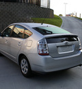 toyota prius 2007 silver hatchback base hybrid 4 cylinders front wheel drive automatic 27215