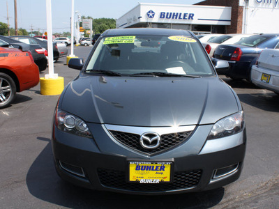 mazda mazda3 2009 metropolitan gray sedan i touring value gasoline 4 cylinders front wheel drive automatic 07730