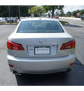 lexus is 250 2008 gray sedan navigation gasoline 6 cylinders all whee drive automatic 07755