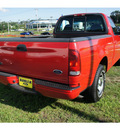 ford f 150 2000 bright red pickup truck xl gasoline v6 rear wheel drive 5 speed manual 07724