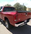 dodge ram 1500 2006 red pickup truck slt gasoline 8 cylinders 4 wheel drive automatic 81212