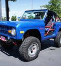 ford bronco 1975 blue suv 302 v8 auto lifted v8 manual 80012