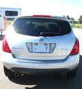 nissan murano 2006 silver suv s gasoline 6 cylinders all whee drive automatic 80504