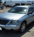 chrysler pacifica 2005 blue wagon gasoline 6 cylinders front wheel drive 4 speed automatic 98901