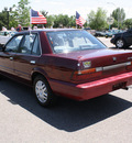nissan stanza 1992 maroon sedan xe gasoline 4 cylinders front wheel drive automatic with overdrive 80229