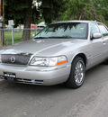 mercury grand marquis 2005 silver sedan ls ultimate gasoline 8 cylinders rear wheel drive automatic with overdrive 80110