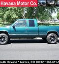 chevrolet c k 1500 series 1997 green k1500 silverado z71 gasoline v8 4 wheel drive automatic with overdrive 80012