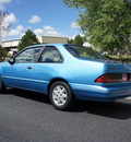 mercury topaz 1992 blue sedan gs gasoline 4 cylinders front wheel drive 5 speed manual 80012