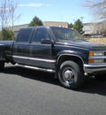 chevrolet c k 3500 series 1997 black pickup truck k3500 silverado gasoline v8 4 wheel drive automatic with overdrive 80012