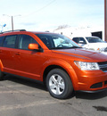 dodge journey 2011 orange mainstreet flex fuel 6 cylinders all whee drive automatic 80301