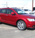 dodge journey 2011 dk  red lux flex fuel 6 cylinders all whee drive automatic 80301
