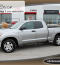 toyota tundra 2007 silver sr5 gasoline 8 cylinders 4 wheel drive 5 speed automatic 46219