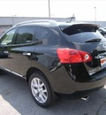 nissan rogue 2011 black suv gasoline 4 cylinders all whee drive not specified 46219
