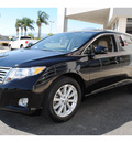 toyota venza 2009 black wagon fwd 4cyl gasoline 4 cylinders front wheel drive automatic 91761