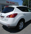nissan murano 2009 white suv sl gasoline 6 cylinders all whee drive automatic 46219