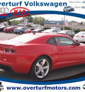 chevrolet camaro 2010 red coupe ss gasoline 8 cylinders rear wheel drive automatic 99336