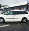 chrysler town and country 2008 white van limited gasoline 6 cylinders front wheel drive automatic 33021