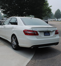 mercedes benz e class 2010 off white sedan e63 amg gasoline 8 cylinders rear wheel drive shiftable automatic 27616