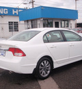 honda civic 2009 white sedan ex gasoline 4 cylinders front wheel drive manual 98632
