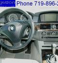 bmw 5 series 2004 titanium silver sedan 530i gasoline 6 cylinders rear wheel drive automatic 80910