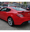 hyundai genesis coupe 2011 red coupe 3 8l track gasoline 6 cylinders rear wheel drive automatic 94010