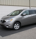 nissan quest 2011 grey van 3 5 sv gasoline 6 cylinders front wheel drive cont  variable trans  47130