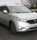 nissan quest 2011 silver van 3 5 sv gasoline 6 cylinders front wheel drive cont  variable trans  47130