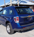 chevrolet equinox 2009 blue suv ls gasoline 6 cylinders front wheel drive automatic 32778