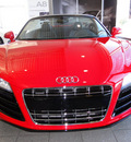 audi r8 2011 red coupe 5 2 quattro spyder gasoline 10 cylinders all whee drive automatic 98226