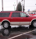 ford expedition el 2009 red suv eddie bauer flex fuel 8 cylinders 4 wheel drive automatic 98632