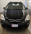 kia rondo 2009 black wagon ex gasoline 4 cylinders front wheel drive automatic 44060