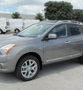 nissan rogue 2011 gray sv gasoline 4 cylinders front wheel drive automatic 33884